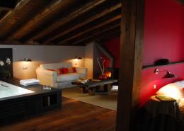 suite carnaval hotel iribarnia habitacion con hidromasaje